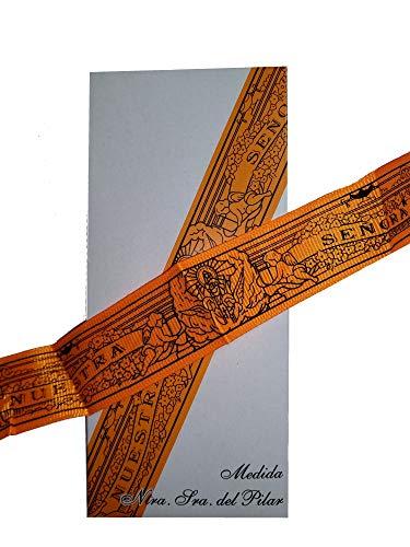 DRW Cinta Virgen del Pilar (Naranja)