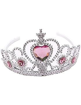 TOPmountain Fiesta Juguete corona de princesa Traje Magic elsa Frozen Navidad Regalos Pelo vestido Niñas Niños...