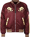 Alpha Industries Japan Dragon Jacke Rot/Gelb XXL