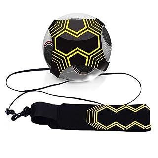 Mture football d'entraînement Ceinture,Ballon de football d'entraînement avec élastique Ceinture d'entraînement réglable pour football Ceinture Ajustable et Elastique pour Enfant et Adulte, Entraineur de Football