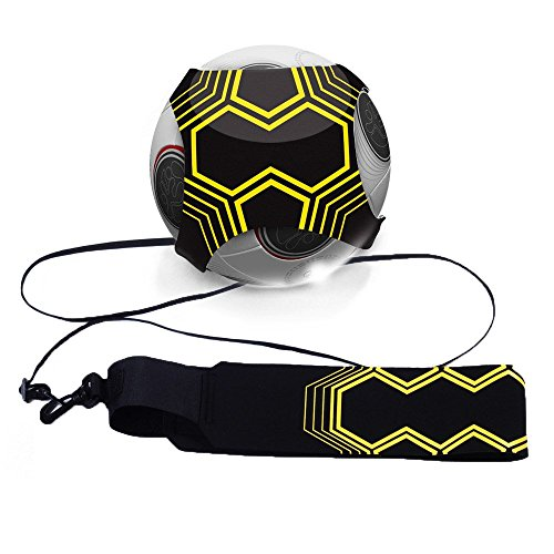 Mture Football Trainer Banda elástica para entrenamiento de fútbol Soccer Skill Trainer Kit for Kids