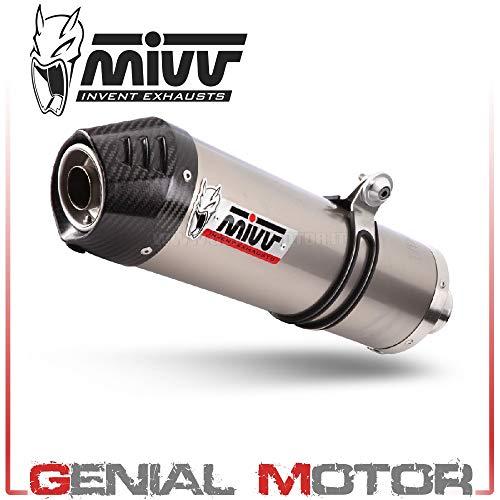 4237 Motor (K.041.L4C Komplette Auspuffanlage MIVV Oval Titan fur Versys 650 2015 15)