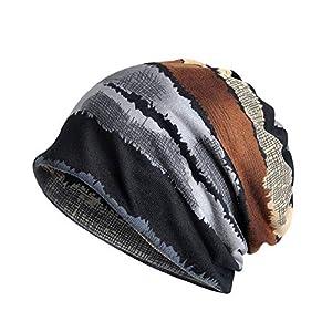 Baumwolle Farbe Drucken Freizeit Super Weich Bequem Anti-Haarausfall Mütze Klassische Lümmel Chemotherapie Gesundheitshut Schön Damen und Herren Kopfbedeckung Hut