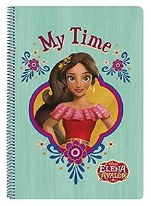 Elena De Avalor- Libreta Folio 80 Hojas Tapas duras (SAFTA 511719066)
