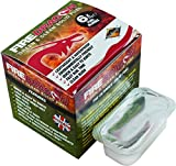 BCB Dragon and Clean Solid Fuel Fire Lighting - White, 6 x 27 g