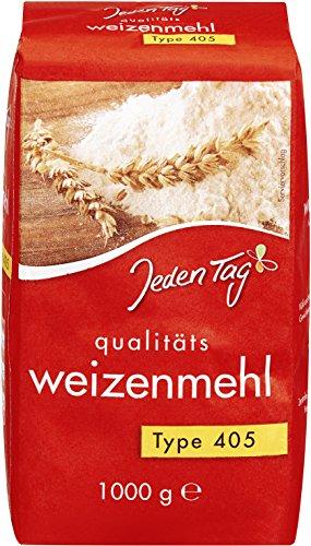 Jeden Tag Weizenmehl Type 405, 10er Pack (10 x 1 kg)