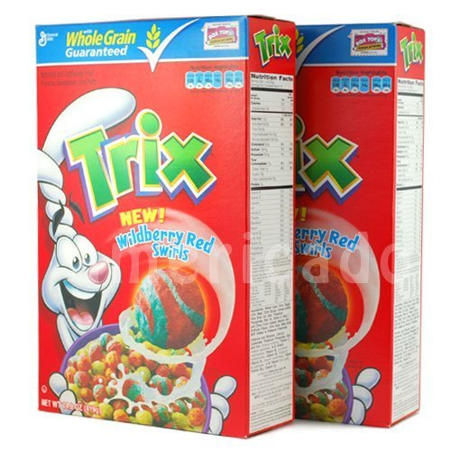 TRIX Trix Konpafu whole grain series 2 box listed Trix [abroad directly for the goods]