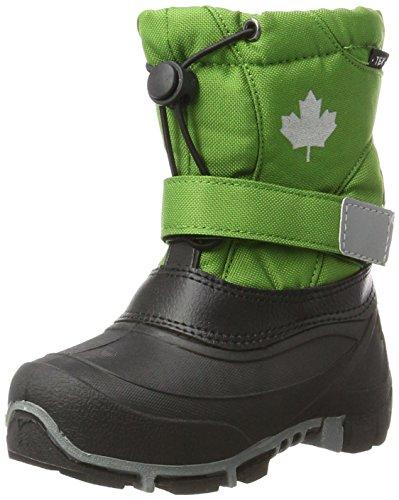 Canadians Unisex-Kinder 467 185 Schneestiefel, Grün (Green), 31 EU
