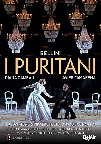 Vincenzo Bellini: I Puritani (Teatro Real de Madrid, 2016) [2 DVDs]
