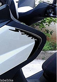 Motodak kit car/énage 11 pi/èces Yamaha x-Max Noir Mat