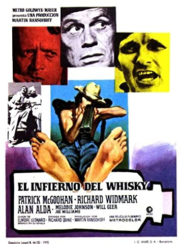 Moonshine War Plakat Movie Poster (11 x 17 Inches - 28cm x 44cm) (1970) Spanish