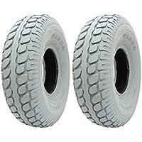 2 - marca pneumatici nuovi Grigio Mobility Scooter 330 x 100 blocco pneumatico 400-5