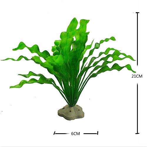 simulation der wasser - aquarium im garten - und landschaftsbau aquarium aquarium im garten - und landschaftsbau verschönerung dekoration kombinierten künstliche pflanzen gesetzt.,hx-001 grün - Gran Gesetzt