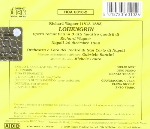 Lohengrin [Import anglais]
