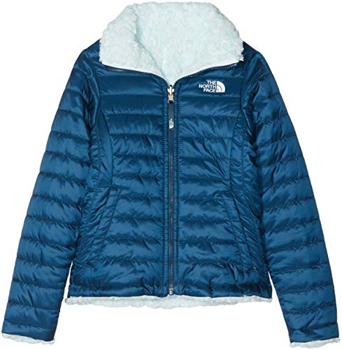 THE NORTH FACE Reversible Mossbud Swirl Veste Fille, WNG TL/O BL, FR : L (Taille Fabricant : L)