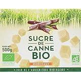 Loiret & Haëntjens Sucre Morceaux Canne Bio 500 g - Lot de 3