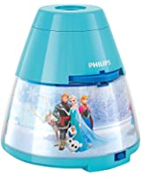 Philips Disney Frozen Children's Night Light and Projector (1 x 0.1 W Integrated LED)
