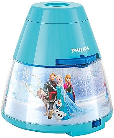 Philips Veilleuse Projecteur Reine des Neiges Disney Lampe