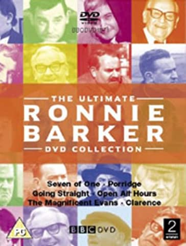 The Ultimate Ronnie Barker Collection : Seven Of One / Porridge / Going Straight / Open All Hours / Clarence / The Magnificent Evans [12 DVDs] [UK Import]