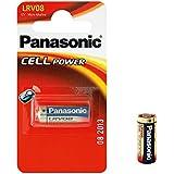 Original Panasonic lrv08Pile alcaline 12V Micro cellules d'alimentation piles pour alarme sans fil carillon de porte de garage télécommande Appareil photo lampes torches