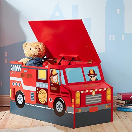 Cofre de madera para juguetes Lil Fire FightersdeFantasyFieldsTD-12507A