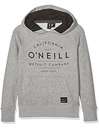 O 'Neill N01470 - Sudadera para niño, Niño, N01470, Silver Mel, FR : 164 cm (Taille Fabricant : 164 cm)