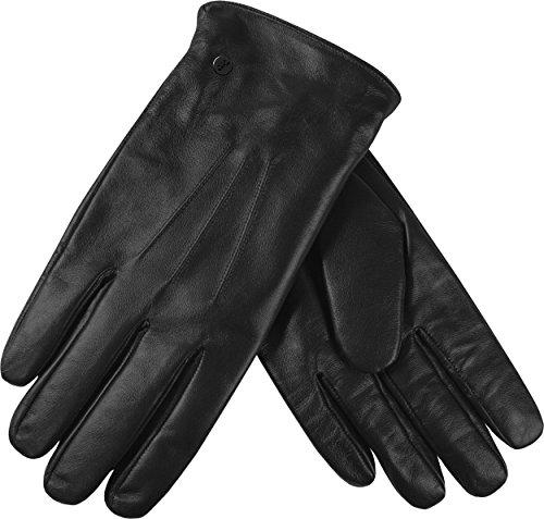 Musterbrand-Hitman-Leder-Handschuhe-Shadow-Touchscreen-Agent-47-Schwarz