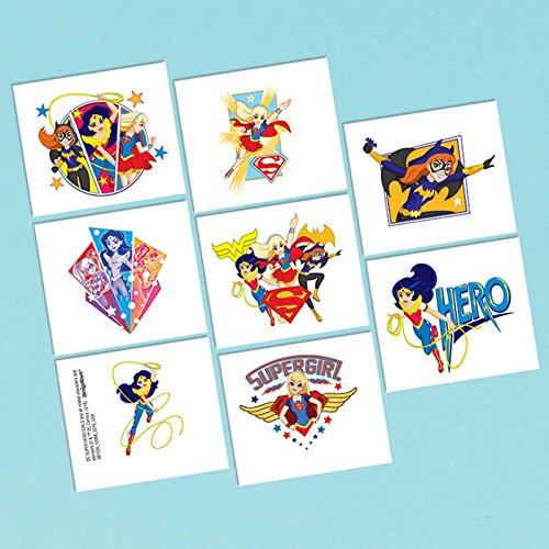 DC Super Hero Girls 8 Stk ()
