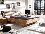 Massivholzbett Cintio 180x200 Wildeiche geölt Doppelbett Ehebett Schlafzimmer Holzbett Bett