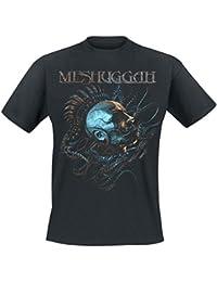 Meshuggah Head T-shirt noir