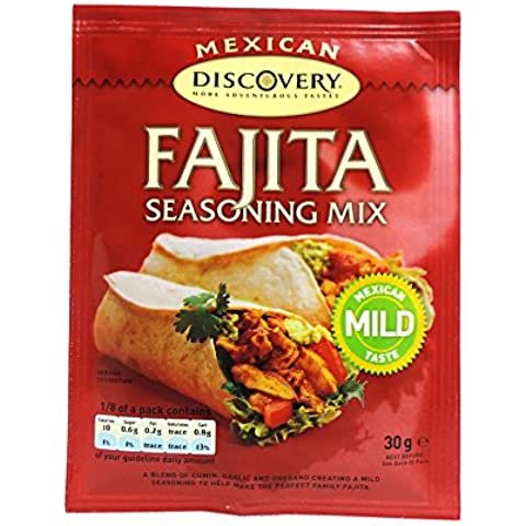 Discovery - Mexican - Mild Fajita Seasoning MIx - 30g - Fajita Mix
