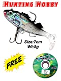 #6: Hunting Hobby HH43 Curly Tail Soft Fish and Bait Lure