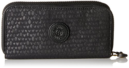 Scarlet Damen Schuhe (Kipling Damen UZARIO Geldbörse, Schwarz (Black Scarlet EMB), 10x18.5x3.5 cm)