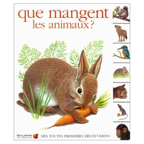 Que mangent les animaux ?