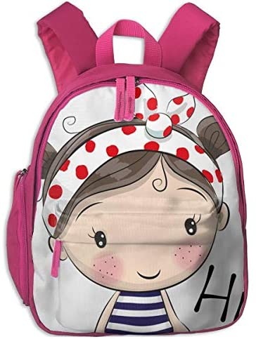 School Backpack For Girls Boys, Kids Cute Cute Cute Hi,girl Cartoon Backpacks Book Bag | Esecuzione squisita