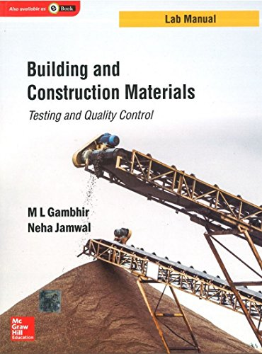 Building and Construction Materials: Testing and Quality Control (Lab Manual Series)
