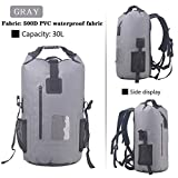 30L Roll Top Rucksack Backpack Pack...