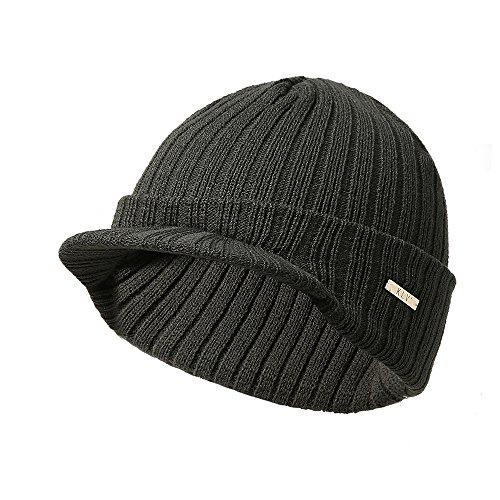 2019 NOVUO Uomo Cappello Invernale in Lana Multi-Vento con Cappello Invernale Europeo e Americano By WUDUBE