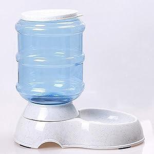Hrph 3.5 L/11 automatique Pet Feeding fontaine chat chien plastique nourriture bol animaux de compagnie distributeur d\'eau