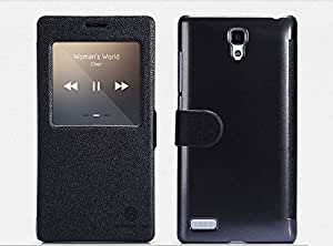 Newtronics Nillkin Leather Holster Flip Cover Case for Xiaomi Redmi Note