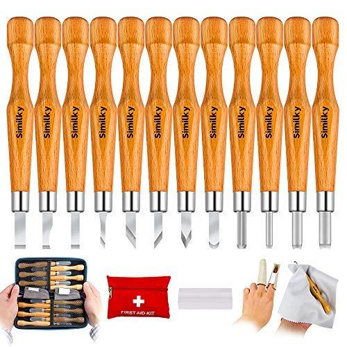 SIMILKY - Juego 12 herramientas tallado