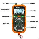 Digital Multimeter Aidbucks MS8232 Spannungsprüfer Spannung Strom Widerstand durchgangsprüfer spannungsmesser True RMS Kapazität Frequenz Celsius und 2 Messleitungen -