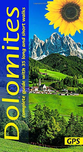 Price comparison product image Dolomites: Complete guide with 35 long and short walks (Sunflower Complete)