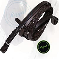 Royal Laced Reins./ Vegetable Tanned Leather./ Stainless