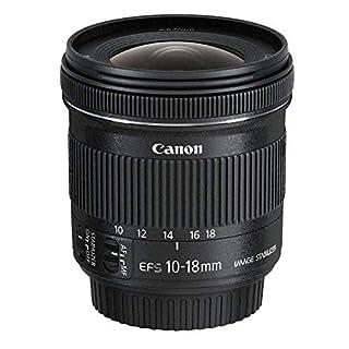 Canon EF-S 10-18 mm f:4.5-5.6 IS STM - Objetivo para Canon (Estabilizador óptico), color negro (B00KAQX66Y) | Amazon price tracker / tracking, Amazon price history charts, Amazon price watches, Amazon price drop alerts