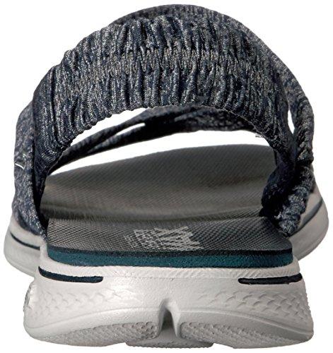 SKECHERS Sandali e infradito per le donne, colore Blu, marca, modello Sandali E Infradito Per Le Donne H2 GOGA BOUNTIFUL Blu Blu