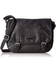 Rip Curl Miami Vibes Shoulder Bag Sac bandoulière, 20 cm, 3 liters, Noir (Black)