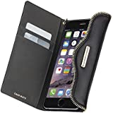 Case-mate de piel tipo libro para de Rebecca Minkoff Collection para Apple iPhone 6 Plus - Negro