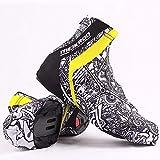 Chengstore Couvre-Chaussures Anti-poussière Respirant pour Homme et Femme, séchage Facile, Parfait pour Les Sports d'hiver et de Plein air L Noir