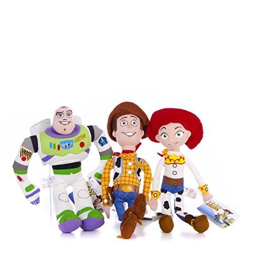 Disney Toy Story Buzz, Woody & Jessie 8 Inch Plush Set